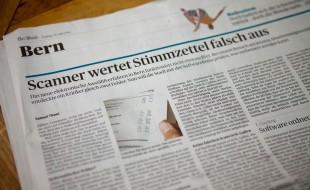 Der Bund - Scanner wertet Stimmzettel falsch aus