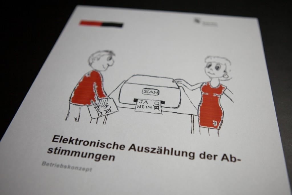 Stadt Bern, Stadtkanzlei: Elektronische Auszählung der Abstimmungen, Betriebskonzept